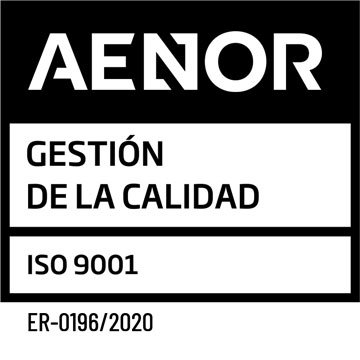 sello aenor iso 9001 pos